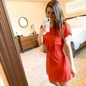 MADEWELL DRESS - Eyelit Dress
